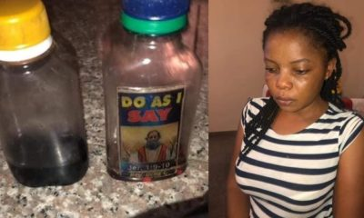 Lady exposes her housemaid for trying to snatch her husband (Photos)