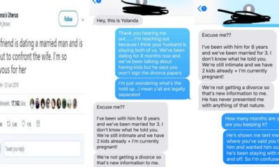 Lady confronts her married lover's wife (Screenshots)