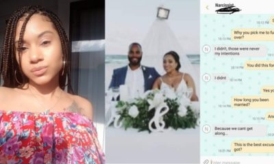 Lady finds out that her boyfriend of two years just got married