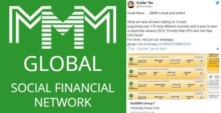 MMM ponzi scheme returns, promises 50% profit on investment