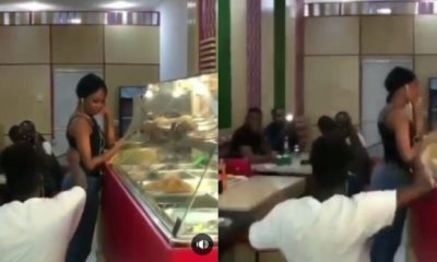 Man cheers eatery guests to force girlfriend to accept his proposal