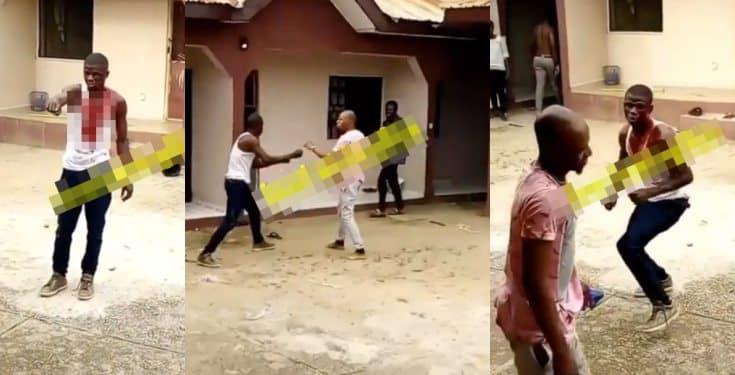 Man goes berserk after meeting his crush's boyfriend (Video)
