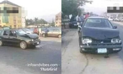 Man thanks God for a 'Successful' accident (Photo)