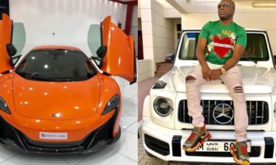 Mompha gifts himself a Mclaren 'flying car' to celebrate his birthday