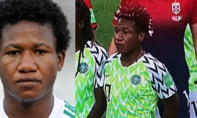 Nigerian man shares photo of a female footballer that gave him serious beating