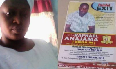 Nigerian widow mourns as her husband and mother are laid to rest