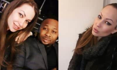 Olakunle Churchill's alleged white girlfriend finally speaks