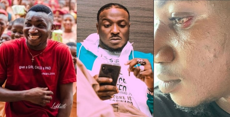 Peruzzi publicly Apologises To Pamilerin