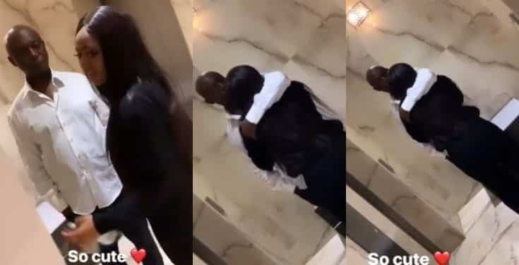 Regina Daniels and hubby, Ned Nwoko serve couple goals in new video