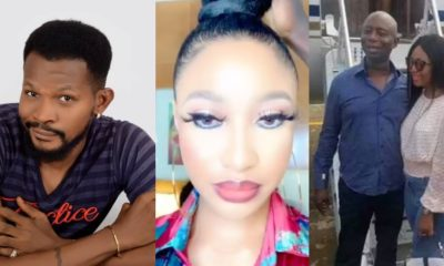 Regina Daniels is good wife material unlike you – Uche Maduagwu to Tonto Dikeh