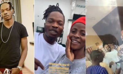 Singer Naira Marley finally out on bail (video)
