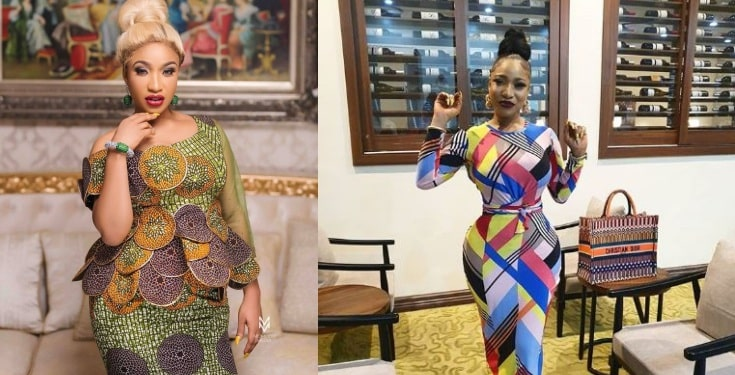 "Tonto Dikah drags follower who called her ""mumu"""