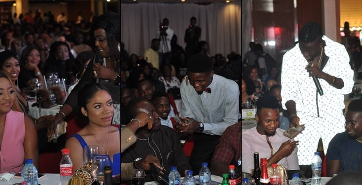 gisft - Photos: Regina Daniels, Dino Melaye And Onazi Light Up AY Live With Cash Gifts