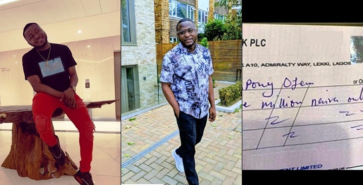 MC Galaxy Gifts Ubi Franklin N3m For Helping Him Pay His House Rent