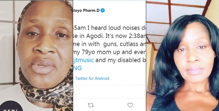 Kemi Olunloyo gets attacked by armed robbers