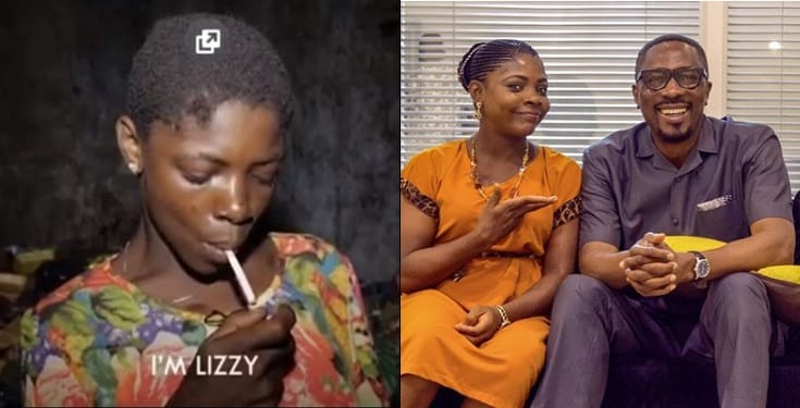 Pastor Tony Rapu Shares New Photos Of Former Drug Addicted Lizzy