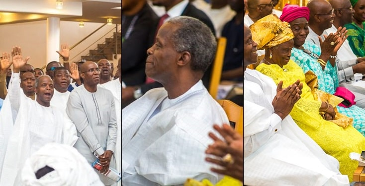 It is not the ability to father a child that makes one a father but the ability to raise one - Osinbajo
