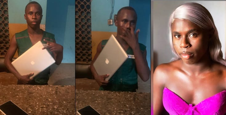 Funny Toheeb Arrested By Police and accused Of Yahoo Yahoo
