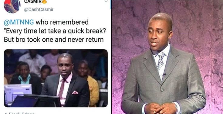 Frank Edoho savagely claps back at a follower