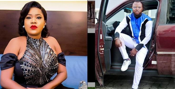 Kolawole Ajeyemi crushes on rumoured wife Toyin Abraham