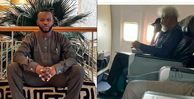 Man Who Told Wole Soyinka To Get Up His Seat Reveals The Reason