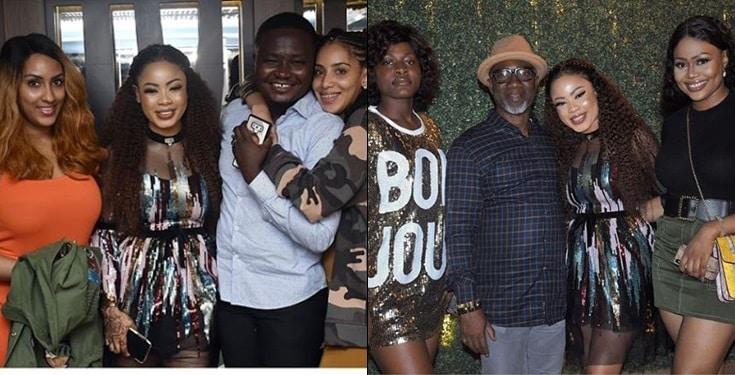 Photos from the Star-Studded Birthday Bash of Nina Ivy