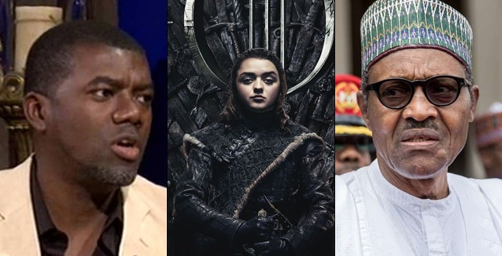 Reno Omokri reveals difference between Buhari and Arya Stark of Game of Thrones