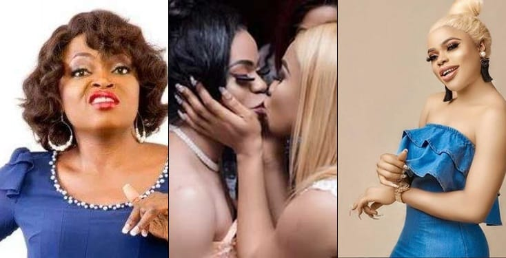 Why Funke Akindele Would Never Kiss or Call Bobrisky Her Best Friend – Actor Reveals