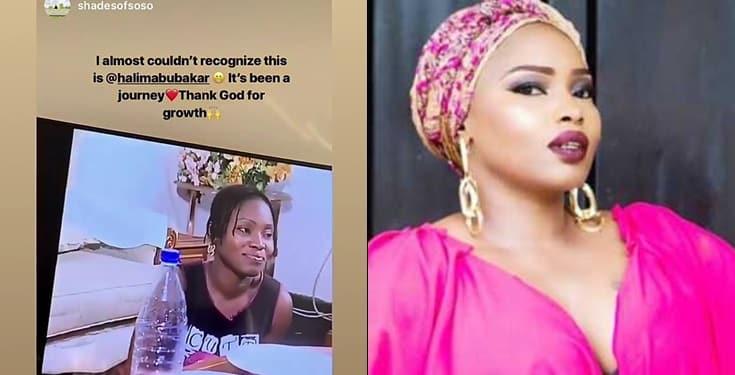 Halima Abubakar reveals why she bleached her skin