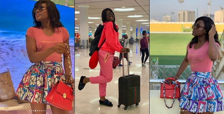 Alex Unusual Reacts After Fan Said She Doesn't Dress Like A Celebrity