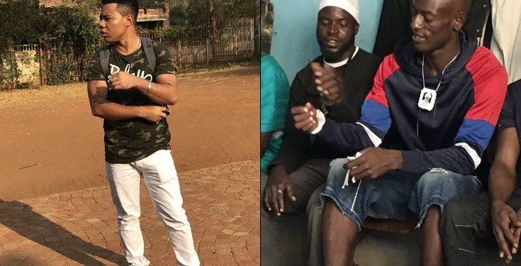 Film director Johnson retrieves p3nis from a bandit in Lagos