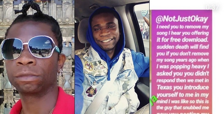 Speed Darlington wishes death on Nigerian music bloggers