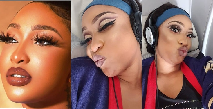 "Tonto Dikeh Blasts Hater Who Called Her ""My Mummy"" Because Of Giveaway"