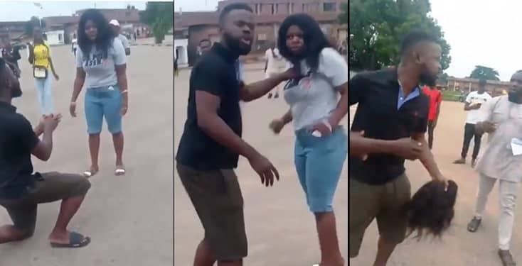 Man Beats Up Fiancee In UNIBEN For Turning Down His Marriage Proposal