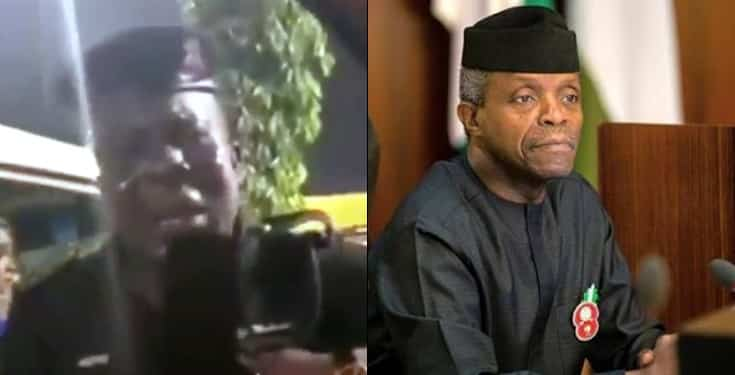 Man pretends to be VP Osinbajo, duped Nigerian policeman and his wife