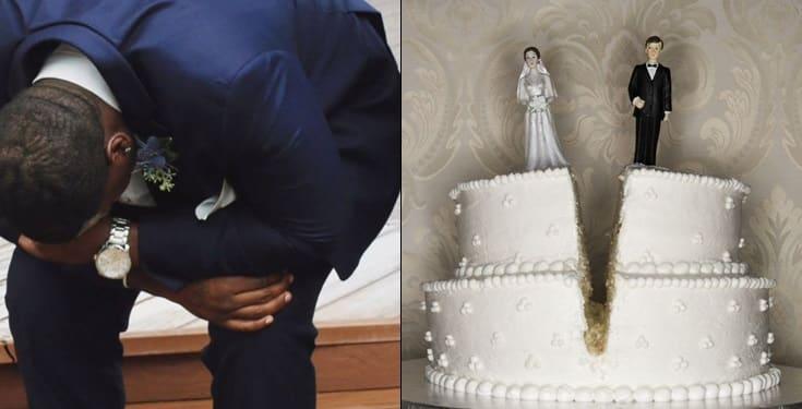 Groom cancels wedding on wedding day