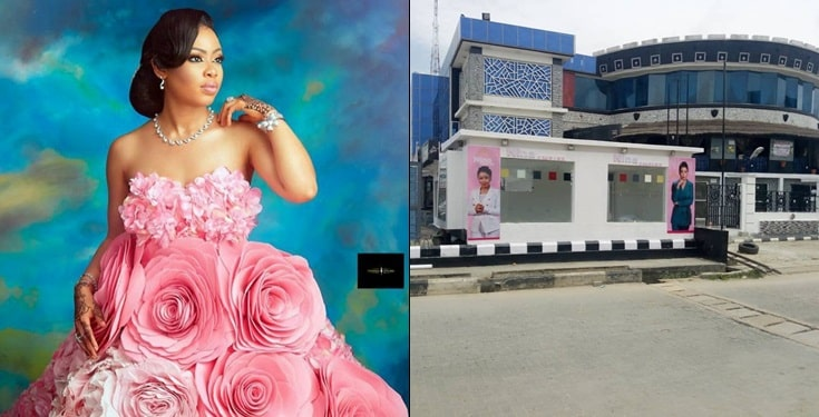 BBNaija Nina Ivy fans surprise her with  shop on her birthday