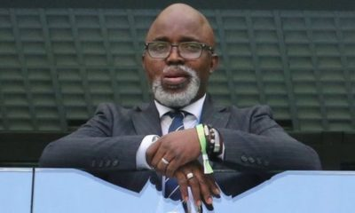 CAF Removes Amaju Pinnick As 1st Vice President