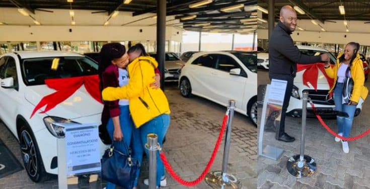 23-year-old Law student's mom gifts her a Mercedes for her 23rd birthday