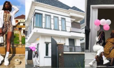 23-year-old model, Blessing Williams buys her second house in Lagos (photos)