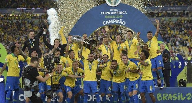 Brazil Wins COPA AMERICA 2019