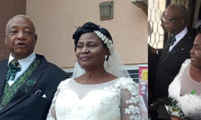 73-year-old man weds his 63 lover in Kaduna (Photos)