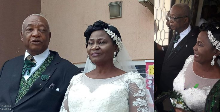 Image result for 73 year old man weds his 63 year old lover in Kaduna (Photos)