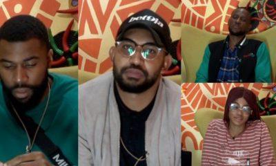 BBNaija 2019: Mike, Jeff, Omashola, and Tacha nominated for eviction