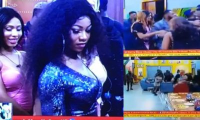 BBNaija 2019: Seyi and Tacha make dramatic return to the house (video)