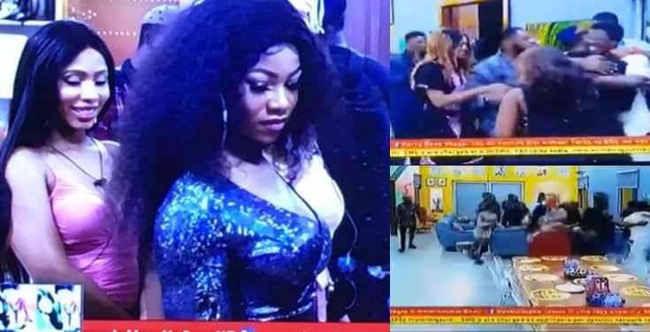 BBNaija 2019: Seyi and Tacha make dramatic return to the house (video)