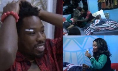 BBNaija 2019: Watch the moment Ike tried to suck Mercy's nipple