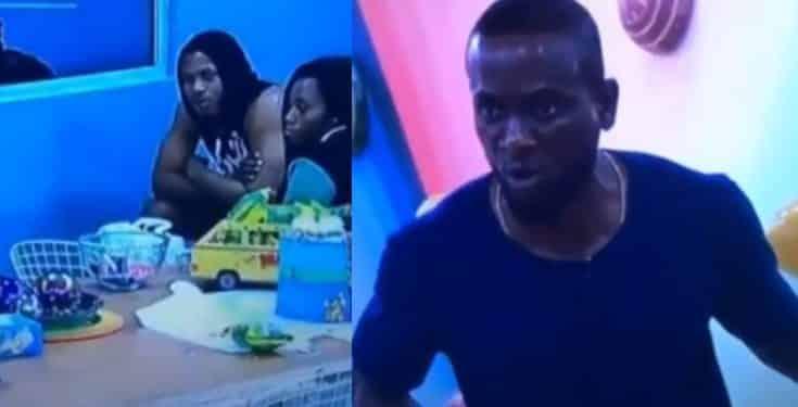 BBNaija: Head of house no be your papa throne - Omashola to Frodd (video)