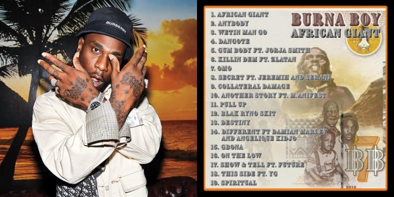 Burna Boy Creates Telegram Group For Fans To Discuss 'African Giant' Album