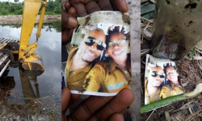 Couple's photo found inside a bottle during an excavation in Rivers State